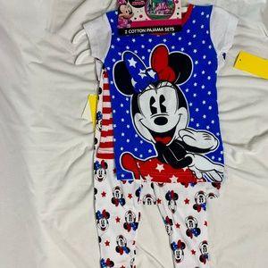 3T Disney Minnie Pajama Set 3T Disney Minnie PJ